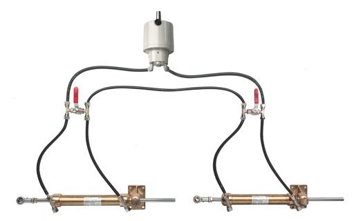 Dual Rudder Steering  DRAW